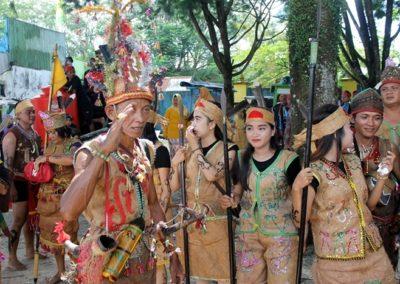 Dayak Borneo-vert